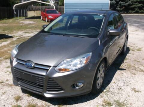 2012 Ford Focus for sale at Straight Line Motors LLC in Fort Wayne IN