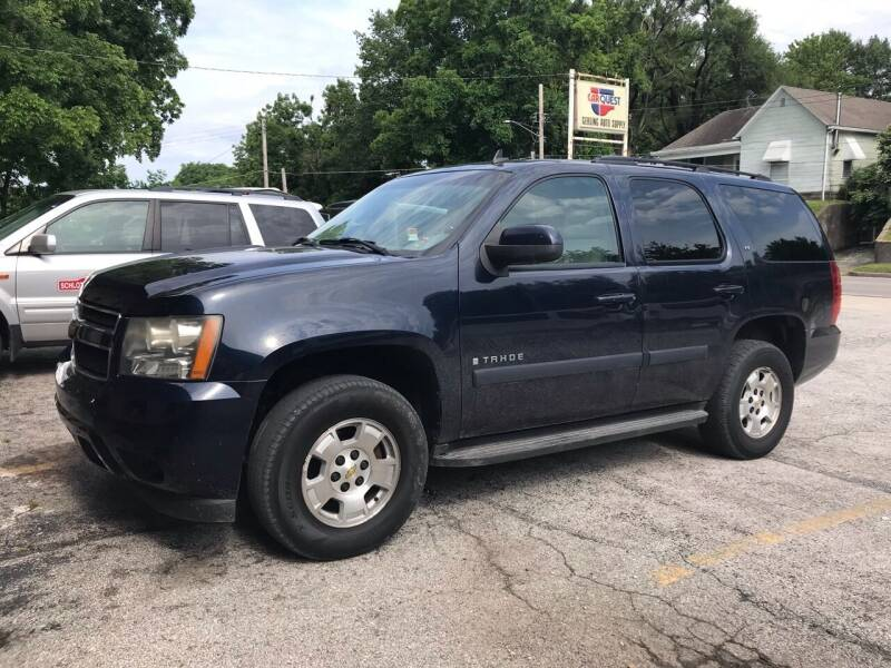 2008 Chevrolet Tahoe for sale at Schlotzhauer Auto in Gravois Mills MO