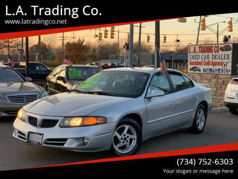 2003 Pontiac Bonneville for sale at L.A. Trading Co. in Woodhaven MI