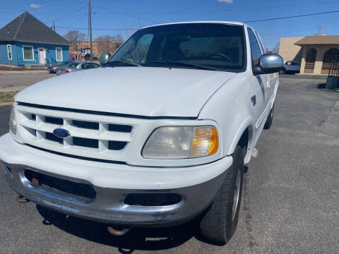 1998 Ford F-150 for sale at Creekside Auto Sales in Pocatello ID