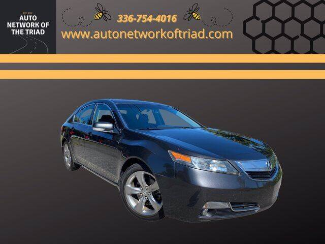 2012 Acura TL for sale at Auto Network of the Triad in Walkertown NC