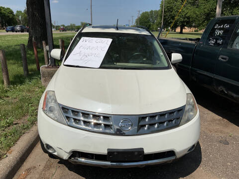 2007 Nissan Murano for sale at Continental Auto Sales in White Bear Lake MN