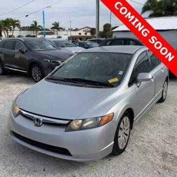 2008 Honda Civic for sale at Monster Cars in Pompano Beach FL