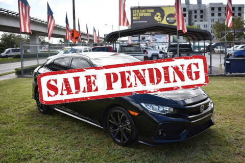 2018 Honda Civic for sale at ELITE MOTOR CARS OF MIAMI in Miami FL