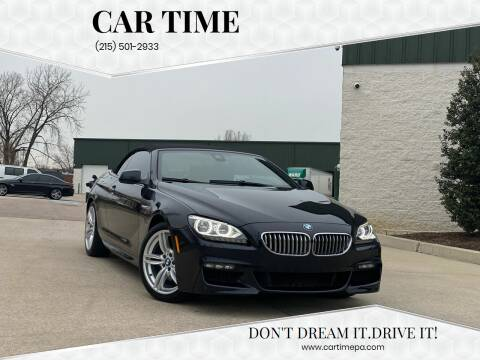 2013 BMW 6 Series for sale at Car Time in Philadelphia PA
