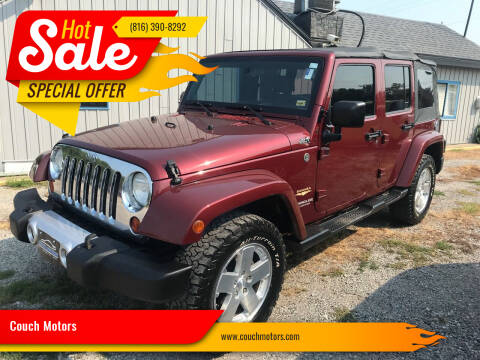 2008 Jeep Wrangler Unlimited for sale at Couch Motors in Saint Joseph MO