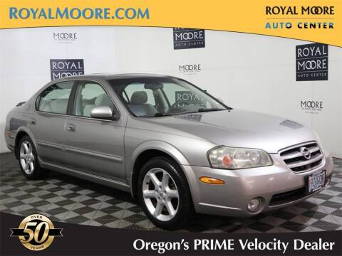 2002 Nissan Maxima for sale at Royal Moore Custom Finance in Hillsboro OR