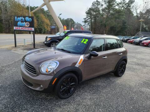 2012 MINI Cooper Countryman for sale at Let's Go Auto in Florence SC