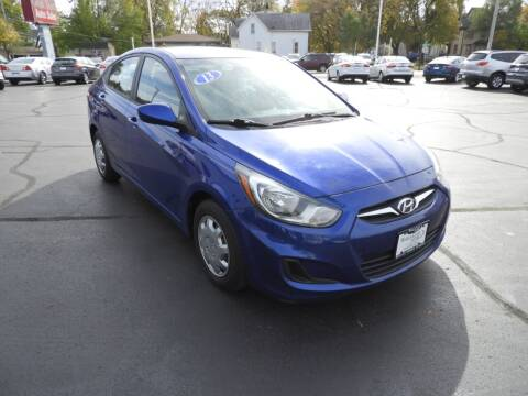 2013 Hyundai Accent for sale at Grant Park Auto Sales in Rockford IL