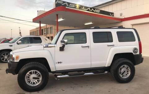 2006 HUMMER H3 for sale at FAST LANE AUTO SALES in San Antonio TX