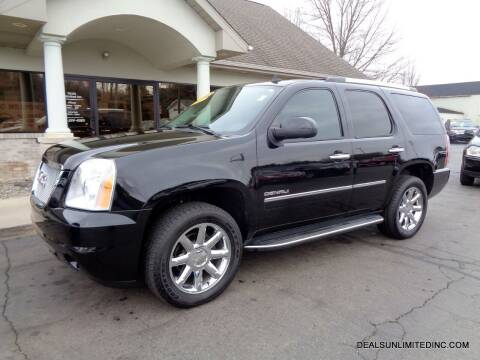2013 GMC Yukon for sale at DEALS UNLIMITED INC in Portage MI