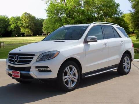 2014 Mercedes-Benz M-Class for sale at BIG STAR HYUNDAI in Houston TX