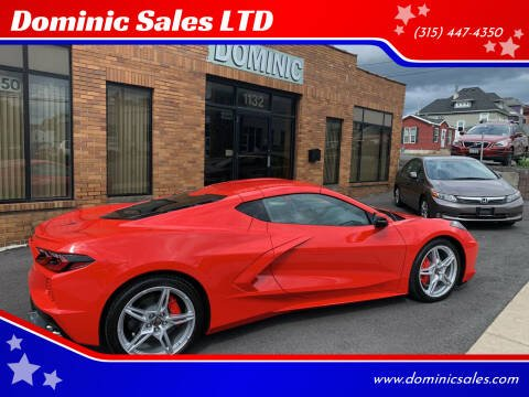 2021 Chevrolet Corvette for sale at Dominic Sales LTD in Syracuse NY