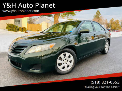 2010 Toyota Camry for sale at Y&H Auto Planet in West Sand Lake NY