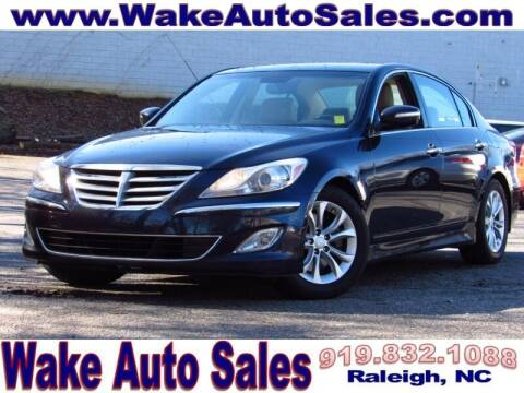 2013 Hyundai Genesis for sale at Wake Auto Sales Inc in Raleigh NC