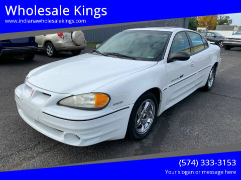 2003 Pontiac Grand Am for sale at Wholesale Kings in Elkhart IN