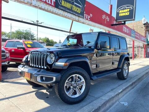 2018 Jeep Wrangler Unlimited for sale at Manny Trucks in Chicago IL