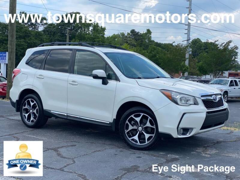 2015 Subaru Forester for sale at Town Square Motors in Lawrenceville GA