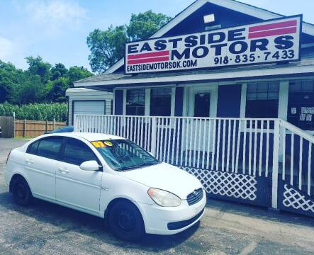 2007 Hyundai Accent for sale at EASTSIDE MOTORS in Tulsa OK