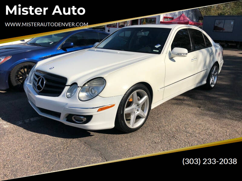 2009 Mercedes-Benz E-Class for sale at Mister Auto in Lakewood CO