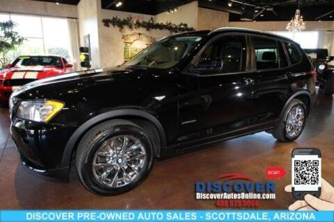 2013 BMW X3 for sale at Discover Pre-Owned Auto Sales in Scottsdale AZ