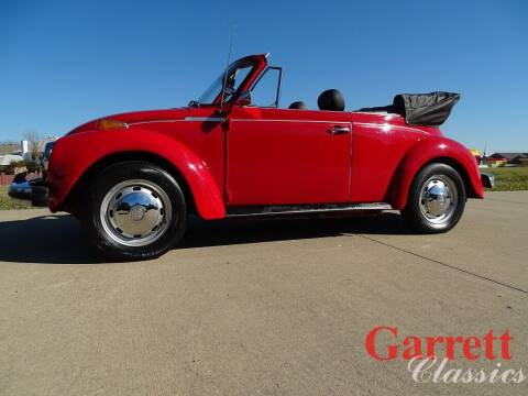 1978 Volkswagen Super Beetle for sale at Garrett Classics in Lewisville TX