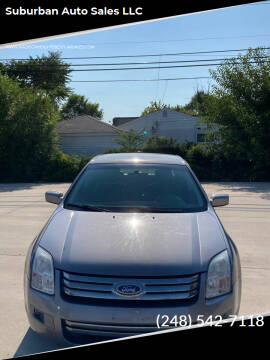 2007 Ford Fusion for sale at Suburban Auto Sales LLC in Madison Heights MI