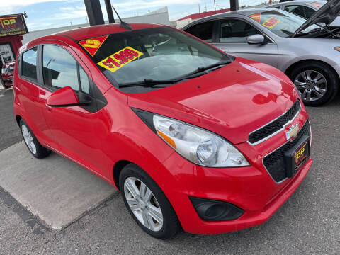 2015 Chevrolet Spark for sale at Top Line Auto Sales in Idaho Falls ID
