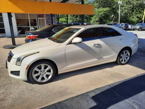 2013 Cadillac ATS for sale at PIRATE AUTO SALES in Greenville NC