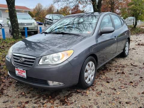 2009 Hyundai Elantra for sale at Lake Ridge Auto Sales in Woodbridge VA