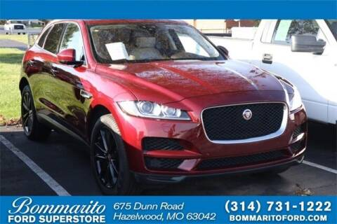 2017 Jaguar F-PACE for sale at NICK FARACE AT BOMMARITO FORD in Hazelwood MO