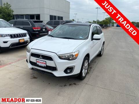 2013 Mitsubishi Outlander Sport for sale at Meador Dodge Chrysler Jeep RAM in Fort Worth TX