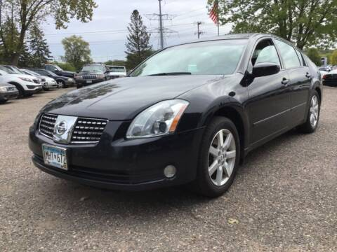 2005 Nissan Maxima for sale at Sparkle Auto Sales in Maplewood MN