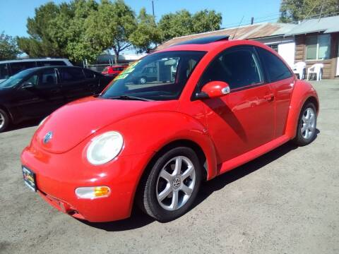 2005 Volkswagen New Beetle for sale at Larry's Auto Sales Inc. in Fresno CA
