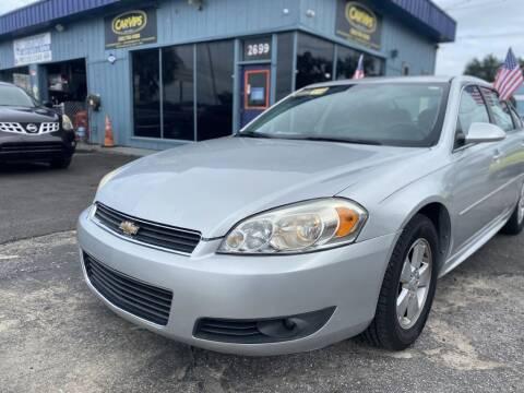 2011 Chevrolet Impala for sale at CAR VIPS ORLANDO LLC in Orlando FL