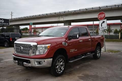 2017 Nissan Titan XD for sale at STS Automotive - Miami, FL in Miami FL