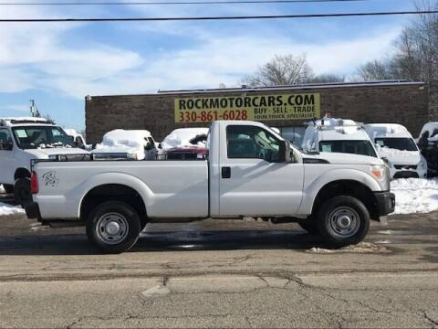 2012 Ford F-250 Super Duty for sale at ROCK MOTORCARS LLC in Boston Heights OH