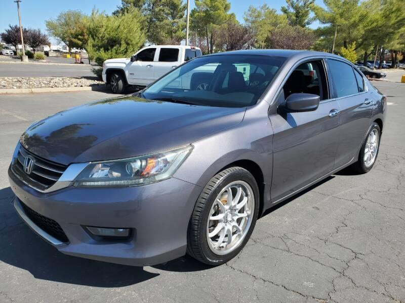 2015 Honda Accord for sale at Matador Motors in Sacramento CA