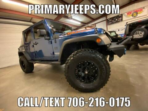 2010 Jeep Wrangler Unlimited for sale at Primary Auto Group in Dawsonville GA