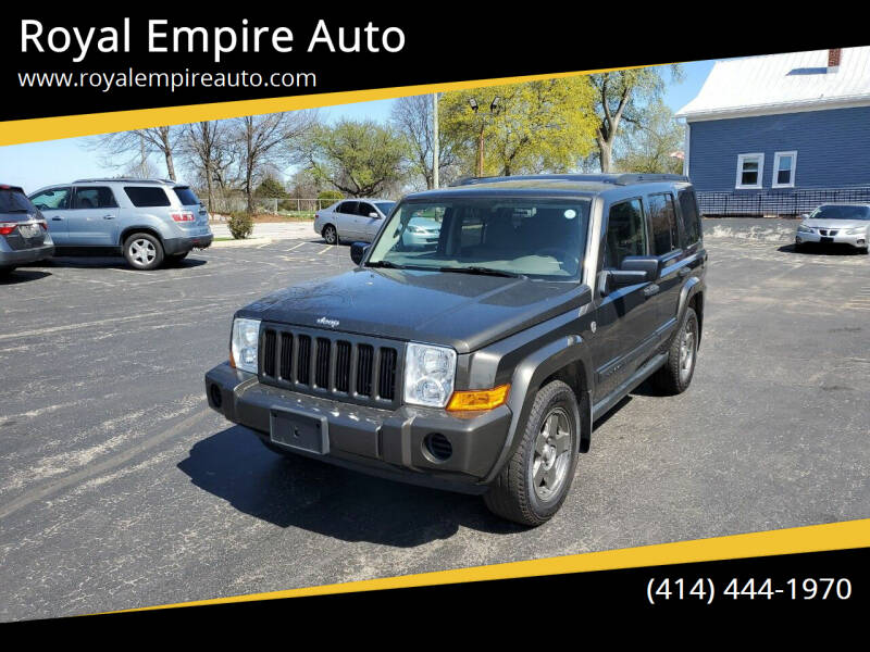 2006 Jeep Commander for sale at Royal Empire Auto in Milwaukee WI