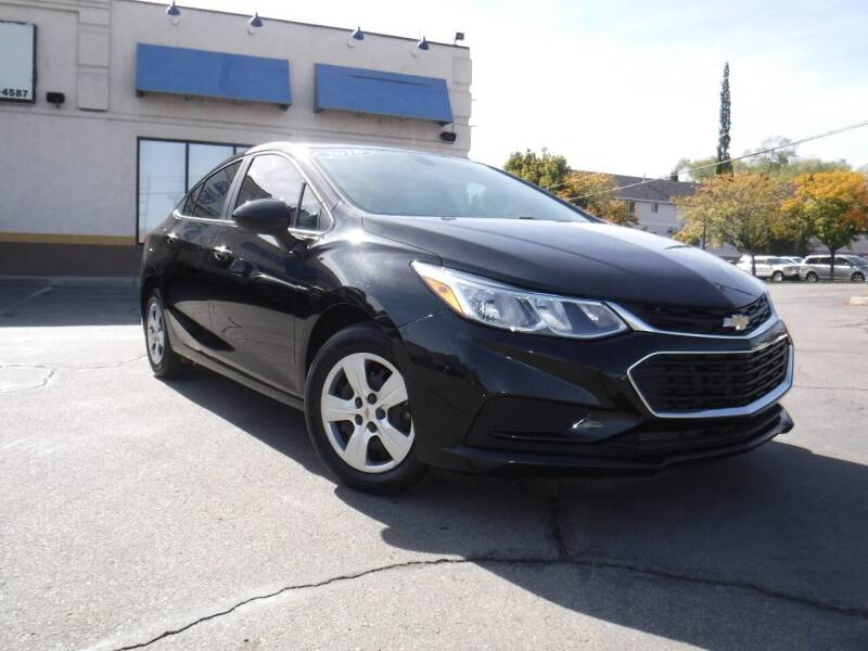2018 Chevrolet Cruze for sale at Platinum Auto Sales in Provo UT