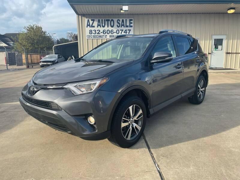 2018 Toyota RAV4 for sale at AZ Auto Sale in Houston TX