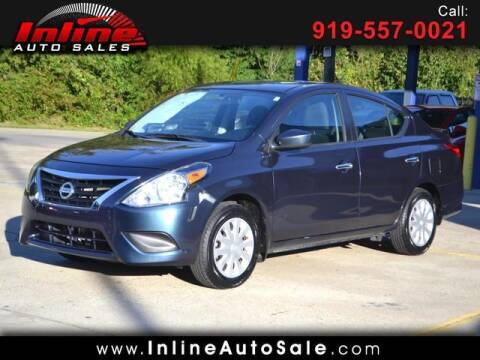 2017 Nissan Versa for sale at Inline Auto Sales in Fuquay Varina NC