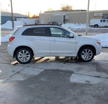 2012 Mitsubishi Outlander Sport for sale at GOOD NEWS AUTO SALES in Fargo ND