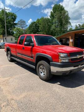 2004 Chevrolet Silverado 2500HD for sale at ELITE AUTOMOTIVE in Crandon WI