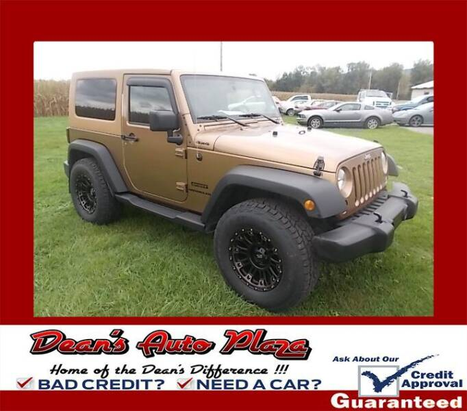 2015 Jeep Wrangler for sale at Dean's Auto Plaza in Hanover PA