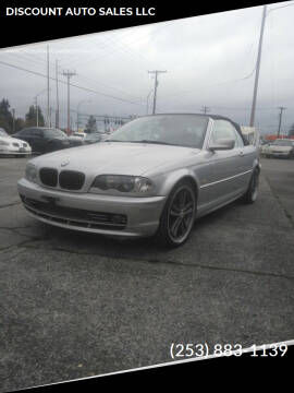 2002 BMW 3 Series for sale at DISCOUNT AUTO SALES LLC in Spanaway WA