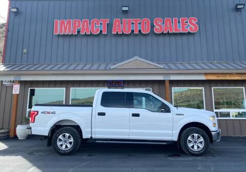 2016 Ford F-150 for sale at Impact Auto Sales in Wenatchee WA