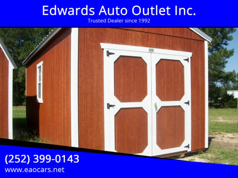 2020 Old Hickory Buildings 10x20 Lofted Barn for sale at Edwards Auto Outlet Inc. in Wilson NC