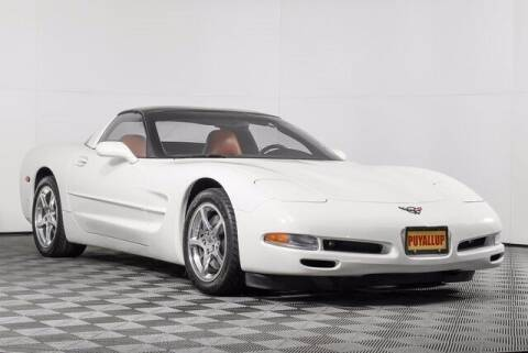 2001 Chevrolet Corvette for sale at Washington Auto Credit in Puyallup WA